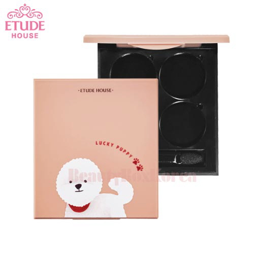 ETUDE HOUSE My Beauty Tool Shadow Case 4 hole [Lucky Puppy Collection]